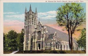Ohio Mount Vernon Saint Vincent De Pauls Church
