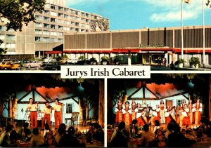 Ireland Dublin Jurys Dubli.n Hotel The Iirish Cabaret