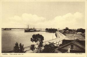 angola, LOBITO, Vista Parcial Lado Sul (1920s)