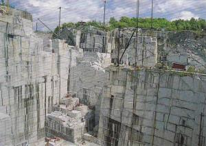 E L Smith Granite Quarry Barre Vermont View Of Quarry