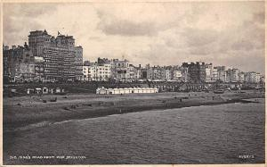 Brighton & Hove, King's Road from Pier, Sunbathe, Beach Seashore Coast