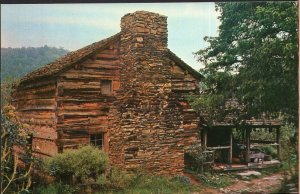 Tennessee The Walker Sisters Cabin Great Smoky Mountains National Park - Chrome