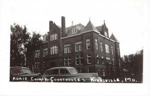 LPSS59 Kirksville Missouri Adair County Court House Postcard RPPC
