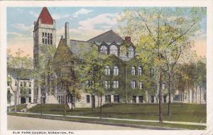 Exterior,  Elm Park Church,  Scranton,  Pennsylvania,  PU_1919