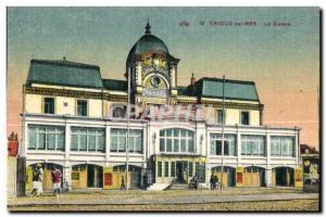 Old Postcard Cayeux sur Mer Casino
