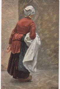 TUCK 6511 ; German Peasant Life by FK , 00-10s ; A Housewife