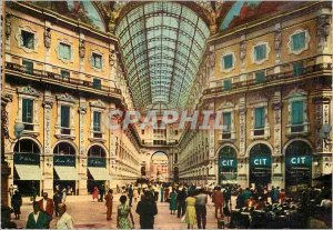 Postcard Modern Galleria Vittorio Emanuele Milano