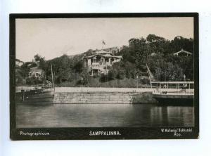 192787 FINLAND ABO Samppalinna Vintage photo postcard