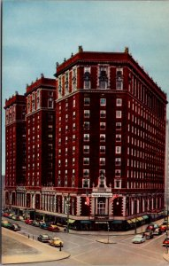 Hotel Syracuse NY Midtown Persian Terrace Restaurants Street View vtg Postcard