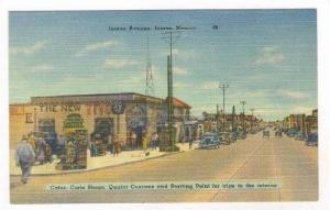 Cafes, Curios Shops, Juarez Avenue, Juarez, Mexico, 1930-40s