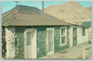 Tonopah Nevada~Beer Bottle House~Roadside US 95~Ellis Street~Screen Doors~1960