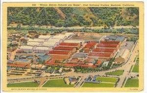 Aerial,First National Studios,Burbank,California,1944