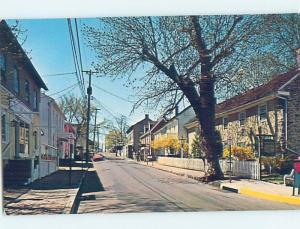 Pre-1980 STREET SCENE New Hope - By Doylestown & Levittown & Bethlehem PA G5085