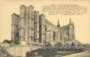 Mons, Belgium, België, la Belgique, Belgien Eglise Collegale Sainte Wadru Mo...