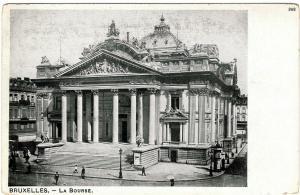 Belgium Bruxelles La Bourse 01.44