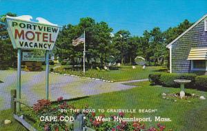 Portview Motel West Hyannisport Cape Cod Massachusetts