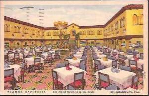 FL St Petersburg Tramor Cafeteria 1954