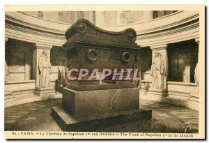 Old Postcard Paris Tomb of Napoleon I at the Invalides