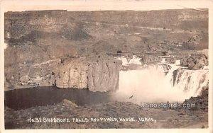 Shoshone Falls and Power House - Twin Falls, Idaho ID