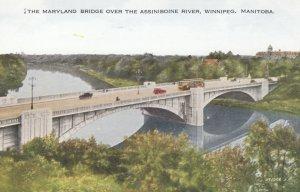 WINNIPEG , Manitoba , Canada , 1910s ; Maryland Bridge