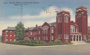 Wesley Memorial Methodist Church, High Point, North Carolina 1949