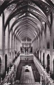 France Albi Basilique Sainte-Cecile la Nef et le Grand Choeus Real Photo