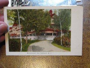US Postcard Used Caldwell NJ Monomonock  Inn 1909 Postmark