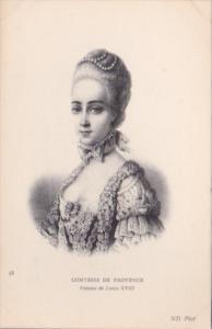 Comtesse De Provence Femme de Louis XVIII