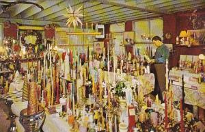 Eve's Candle Shop Interior Canadensis Pennsylvania