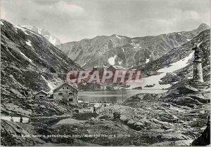 Postcard Modern Colle del Gran Bernardo S (2467 m) Albergo Italia E Ospizio