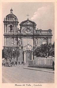 Italy Old Vintage Antique Post Card Mazara del Vallo Cattedrale Unused