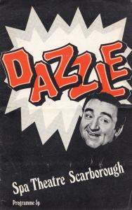 Frankie Desmond Dazzle Scarborough Yorkshire Theatre Programme