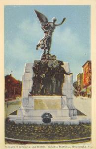 B5170 Quebec Sherbrooke Monument Memorial des soldats