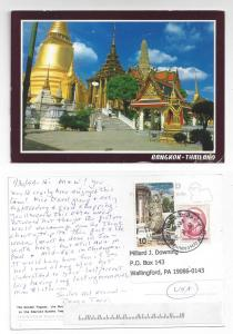 Thailand Bangkok Golden Pagoda Emerald Buddha Temple 4X6 PC