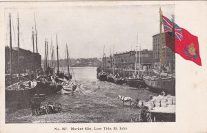 Market Slip , Low tide , ST JOHN , New Brunswick, Canada , 00-10s