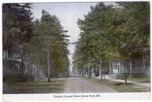Ocean Park, Me, Temple Avenue Pines