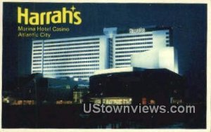 Harrah's Marina Hotel Casino in Atlantic City, New Jersey