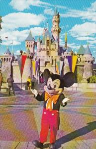 It All Started With A Mouse Disneylands Number One Star Disneyland Anahem Cal...