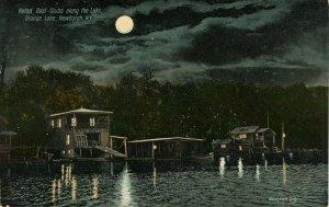 NY - Newburgh. Orange Lake, Boat Clubs