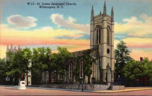North Carolina Wilmington St James Episcopal Church Curteich