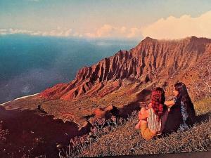 Postcard  Kalalau Valley, Island od Kaui, HA      X4