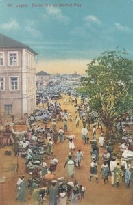 LAGOS , Nigeria , 00-10s ; Ebute Ero on Market Day