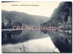 Postcard Old Eylac Gorge Dordogne