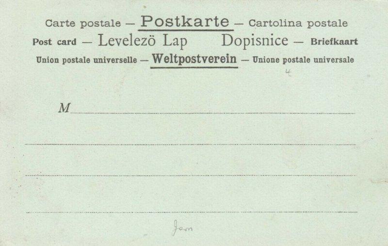 La Poste a la TRINIDAD, 1901-07