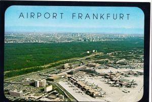 Germany, Airport Frankfurt, unused Postcard