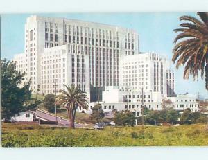 Unused Pre-1980 HOSPITAL SCENE Los Angeles California CA d5315