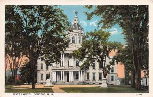 State Capitol, Concord, New Hampshire, early postcard, Unused