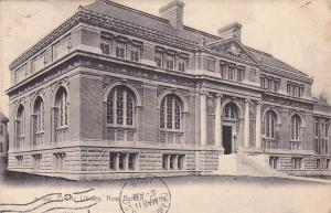 NEW BRITAIN, Connecticut, PU-1908; Public Library