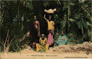 CPA AK Dakar - Dans les Palmiers SENEGAL (778804)