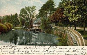 MA - Taunton. Boat Club